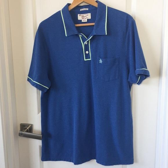 a8fe7c10 Penguin- Men's Blue Polo Shirt. Size XXL. M_5c4cd106194dad68fd152f17